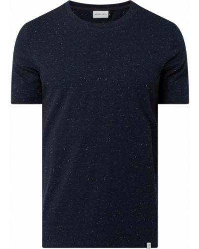 Niebieski t-shirt bawełniany Nowadays