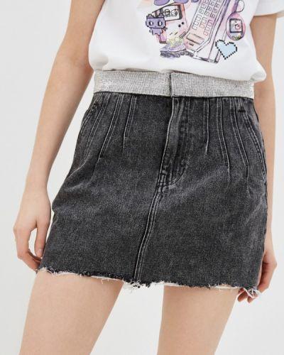 Черная джинсовая юбка Miss Sixty