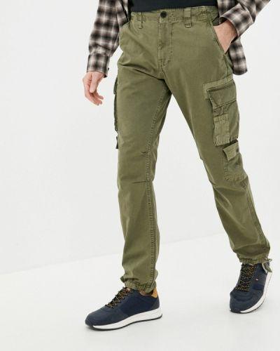Брюки карго - зеленые Pepe Jeans