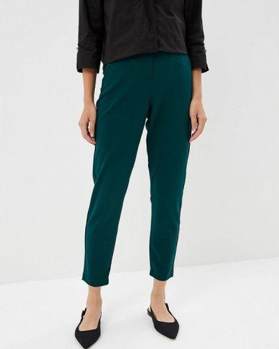 Зеленые брюки повседневные B.young