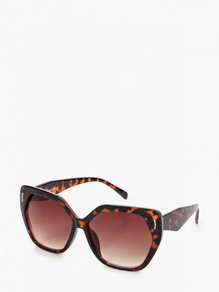 Муслиновые коричневые солнцезащитные очки квадратные Marks & Spencer