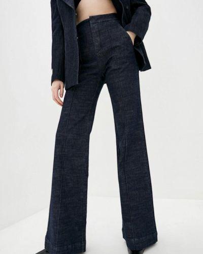 Синие широкие джинсы свободного кроя Miss Sixty