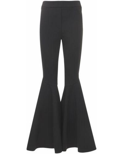 Czarne spodnie rozkloszowane Ellery