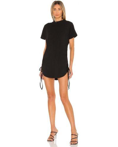 Sukienka bawełniana - czarna Superdown