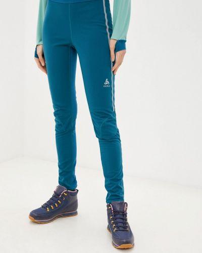 Бирюзовые спортивные брюки Odlo