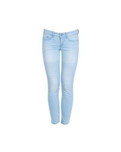 Голубые джинсы-скинни Ice Iceberg