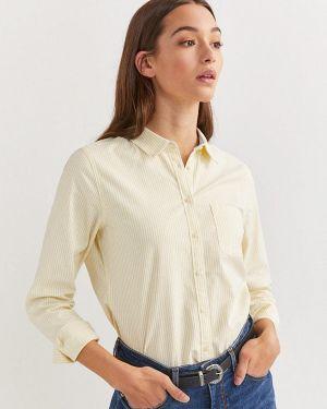 Рубашка с длинным рукавом желтый Springfield