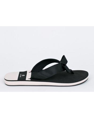 Черные сандалии Gant