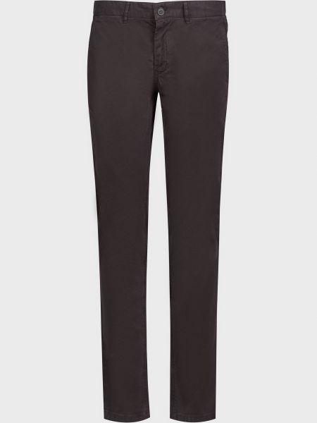 Хлопковые брюки - коричневые Lab. Pal Zileri