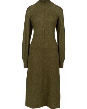 Платье из вискозы зеленый B.young