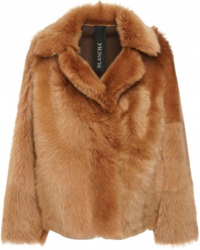 Куртка двусторонняя из верблюжьей шерсти Blancha