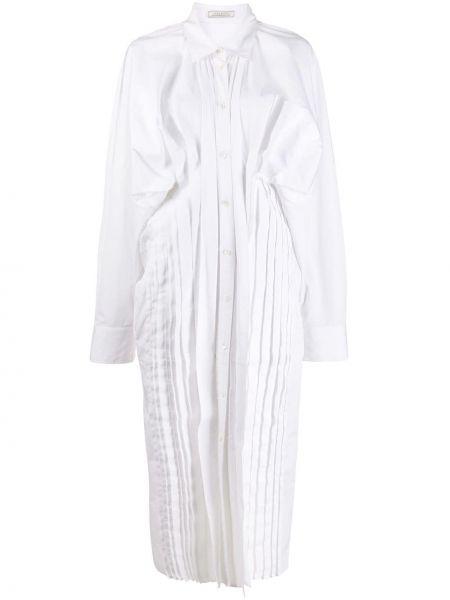 Платье на пуговицах платье-рубашка Nina Ricci