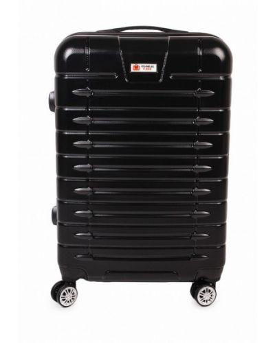 Черный чемодан Global Case