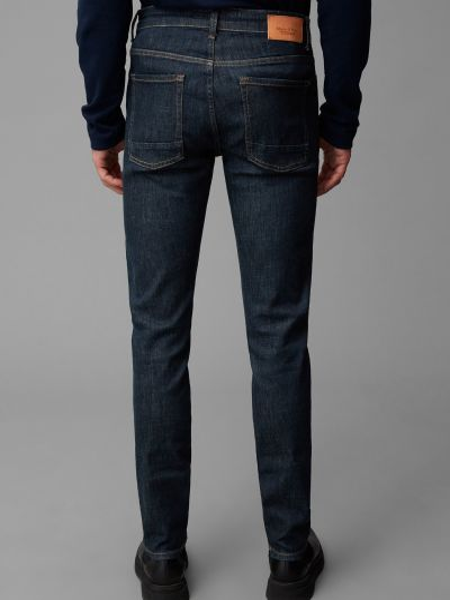 Зауженные джинсы - синие Marc O'polo
