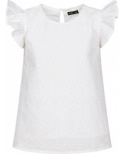 Расклешенная блузка с вышивкой Endo