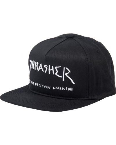 Черная бейсболка Thrasher