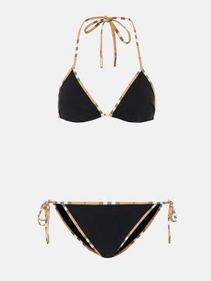 Bikini czarny zabytkowe Burberry