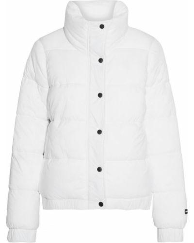 Нейлоновая белая стеганая куртка Dkny