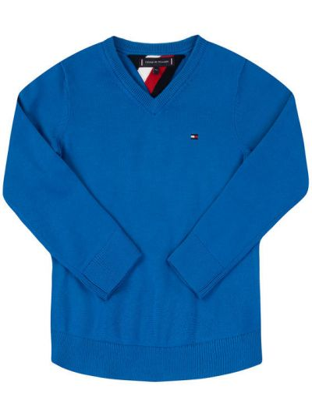 Sweter - niebieski Tommy Hilfiger