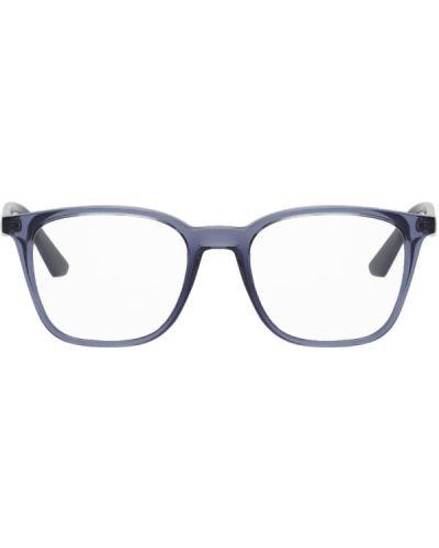 Синие очки для зрения прозрачные квадратные Ray-ban