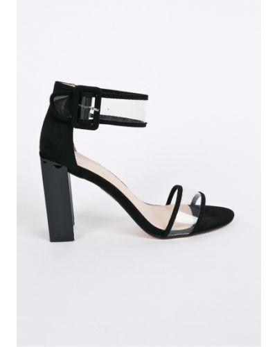 Туфли на каблуке текстильные Public Desire