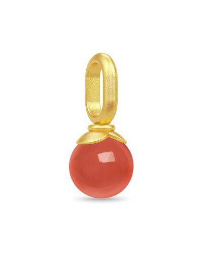 Czerwona złota zawieszka Julie Sandlau