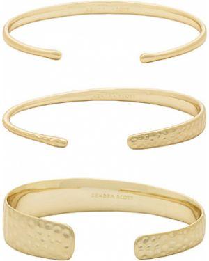 Złota bransoletka ze złota pozłacana kaskadowa Kendra Scott