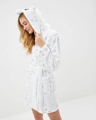 Белый халат домашний Loungeable