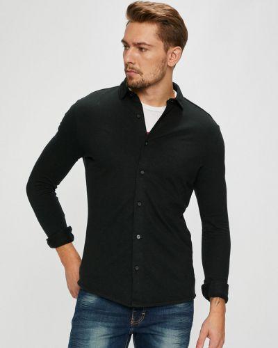 Рубашка с длинным рукавом однотонная хлопковая Premium By Jack&jones