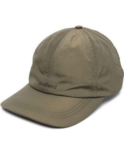 Zielona czapka z daszkiem Soulland
