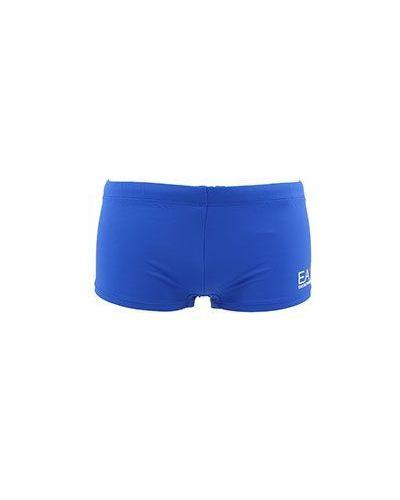 Голубые плавки Ea7