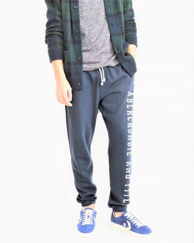 Спортивные брюки - синие Abercrombie & Fitch