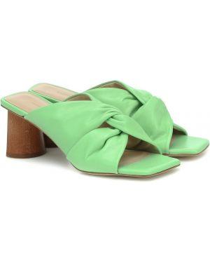 Желтые туфли Rejina Pyo