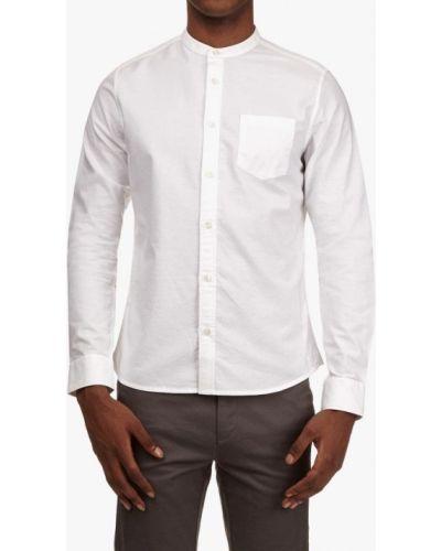 Белая рубашка с длинным рукавом Burton Menswear London