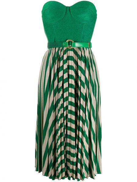 Платье плиссированное прямое Elisabetta Franchi