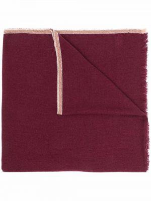 Z kaszmiru szalik - różowy Brunello Cucinelli