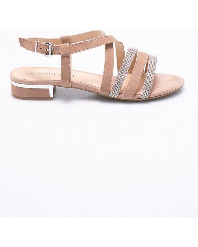 Сандалии кожаный на каблуке Caprice
