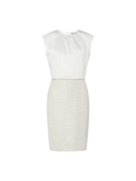 Beżowa sukienka mini krótki rękaw Jake*s Collection