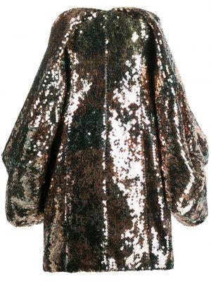 Złota sukienka mini Halpern