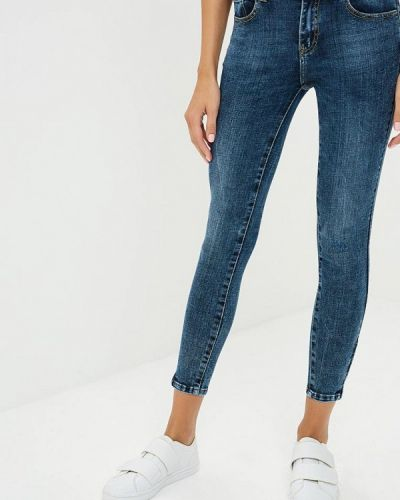 Синие джинсы-скинни Miss Bon Bon