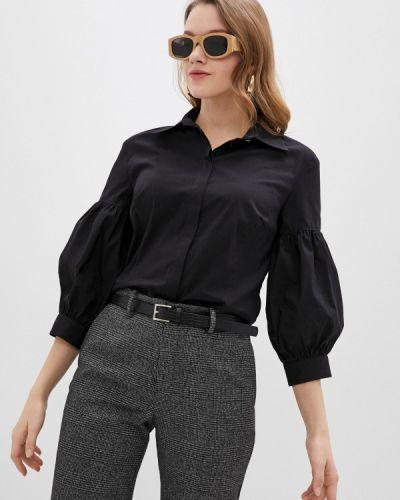 Черная рубашка с длинными рукавами Blauz