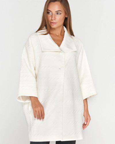 Пальто белое осеннее Sellin