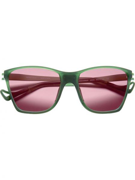 Zielone okulary do biegania District Vision
