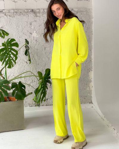 Костюмный желтый костюм Lilove
