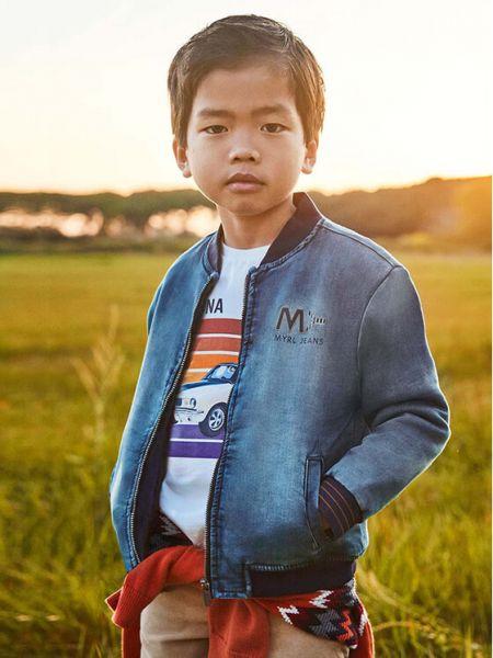 Kurtka jeansowa - niebieska Mayoral
