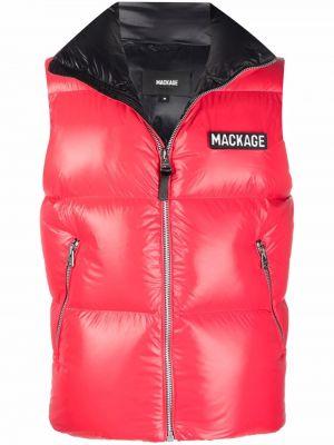 Красная жилетка с карманами Mackage