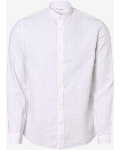 Biała biała koszula Lindbergh