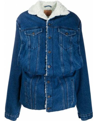 Прямая синяя джинсовая куртка Y/project