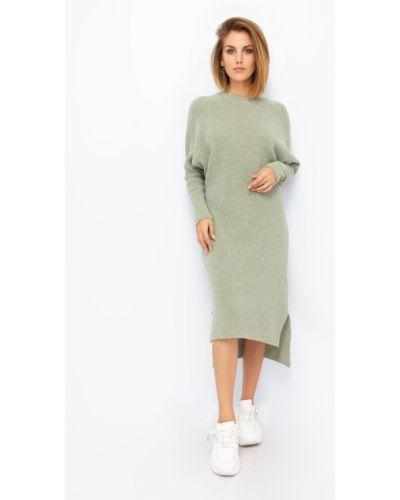 Шерстяное платье макси Dilvin