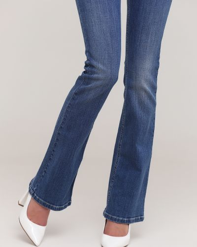 Голубые джинсы с карманами Kookai